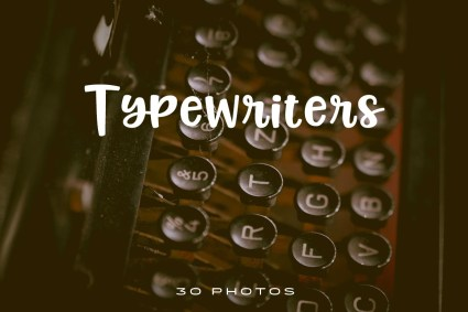 Typewriters-Photo-pack