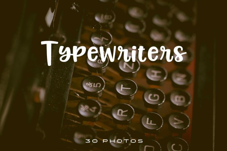 Typewriter Photo Pack
