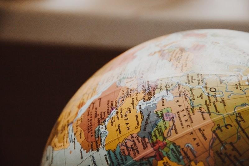 Photo-of-a-globe-closeup