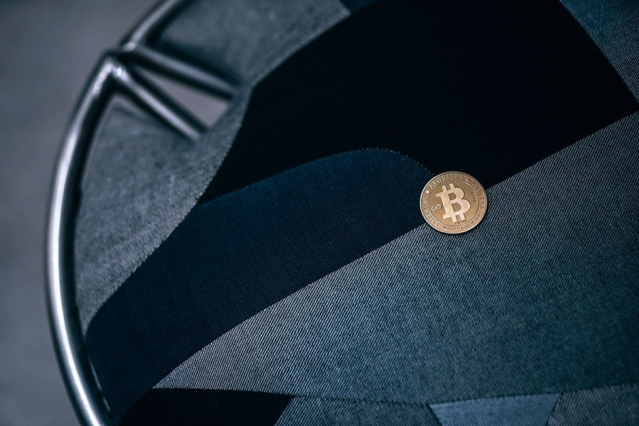 Bitcoin-on-an-Abstract-Patterned-Chair-min
