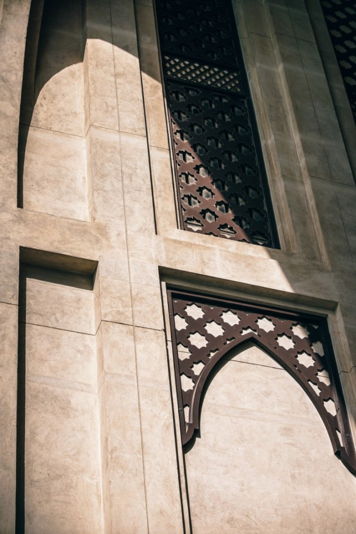 Beautiful-Islamic-Pattern-on-a-Mosque-in-Dubai