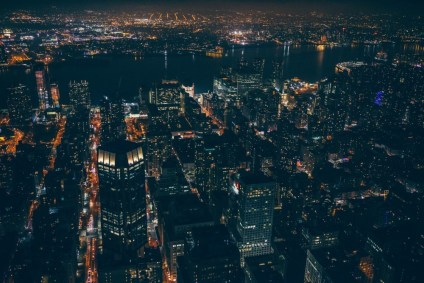 Aerial-View-of-New-York-City-at-Night