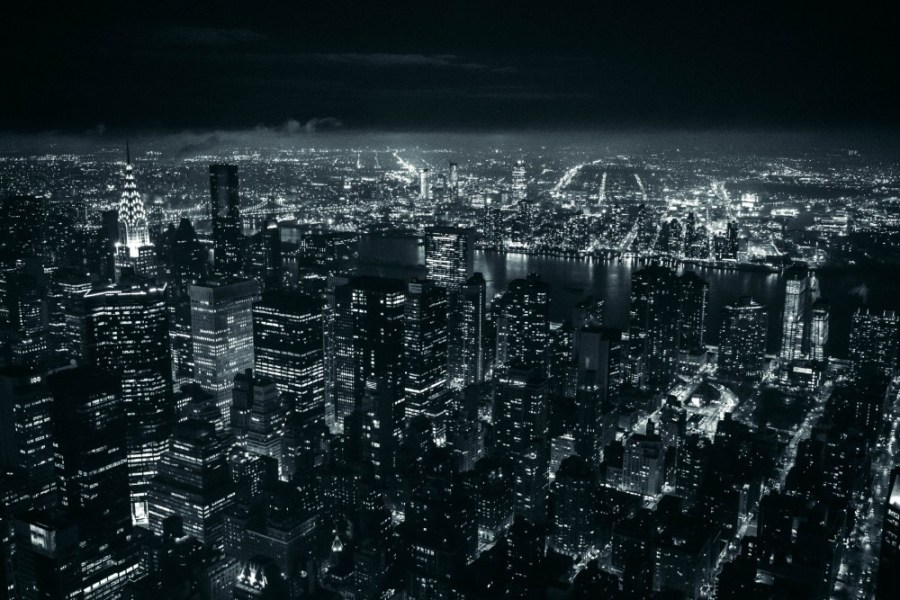 Black-and-White-Photography-of-the-New-York-City-Skyline