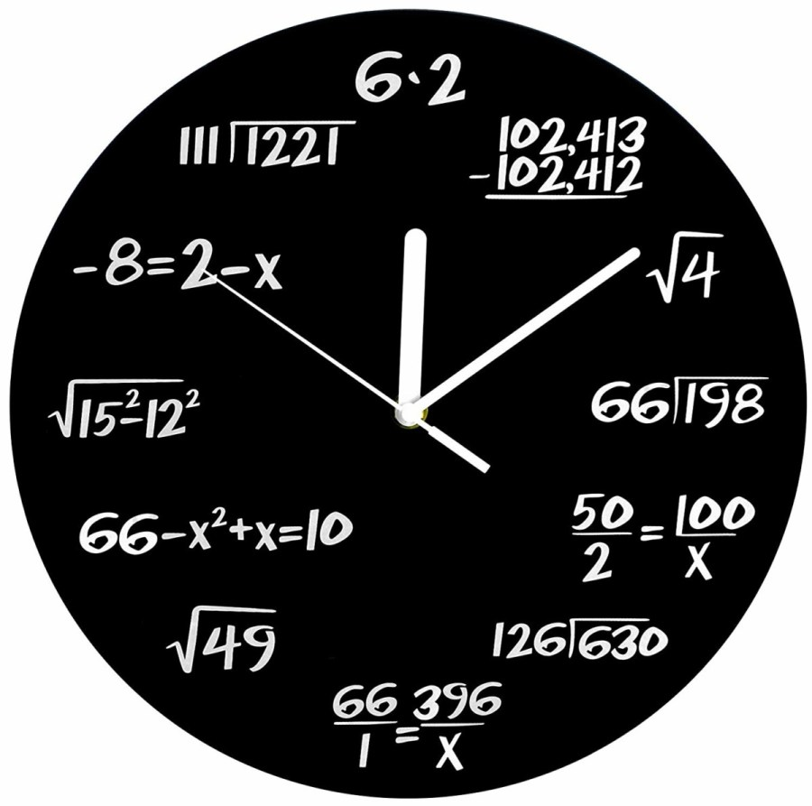 Decodyne-Math-Clock