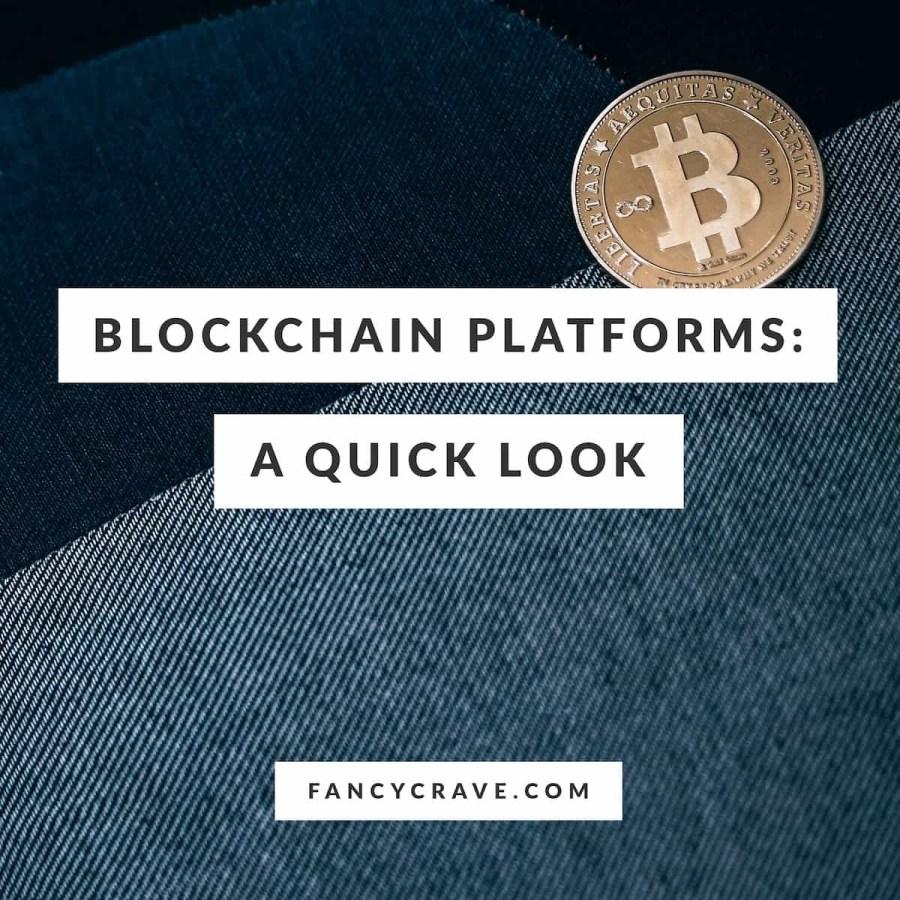 Blockchain-Platforms