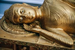 Gold-Sleeping-Buddha-Statue
