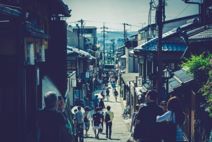 People-Walking-Through-the-Streets-of-Kyoto-Japan-1