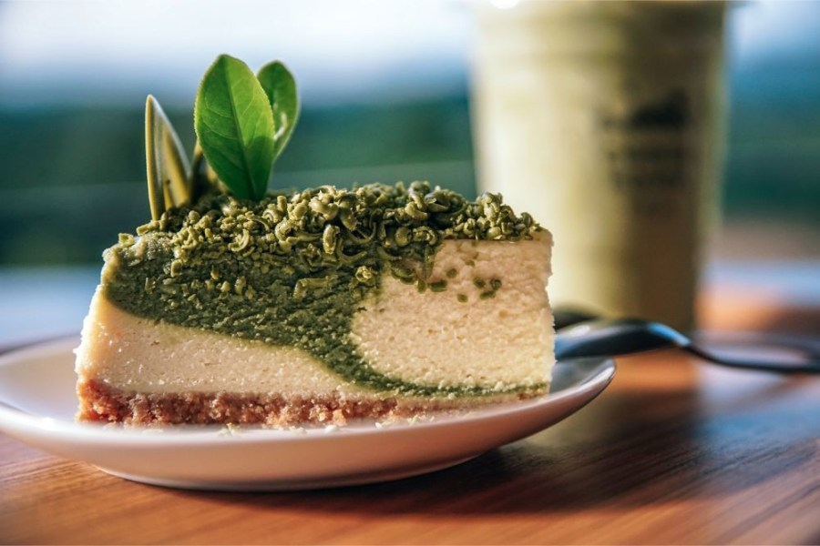 Green-Tea-Cheesecake