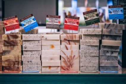Organic-Soap-Bars-with-Different-Scents