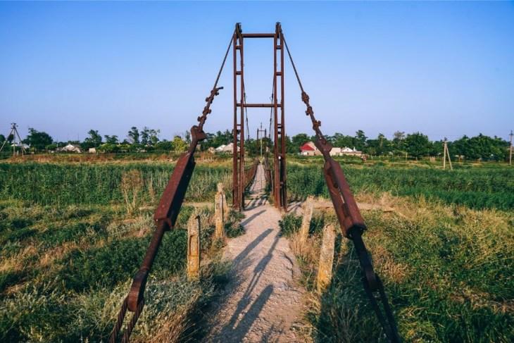 Rusty-Walking-Bridge