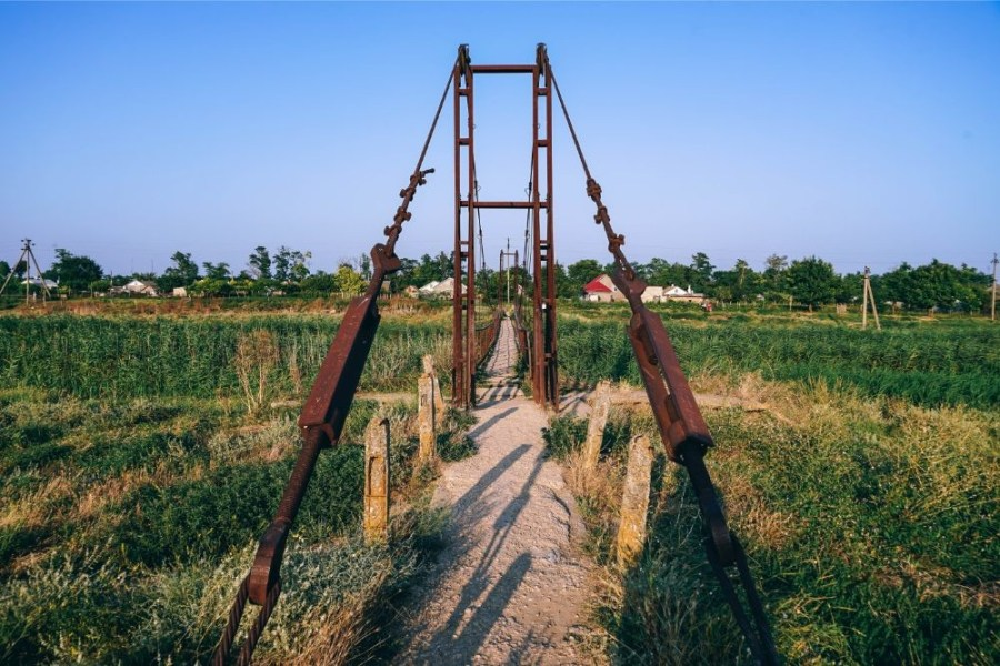 Rusty-Walking-Bridge