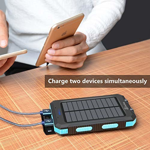 Hiluckey-10-000-mAh-Solar-Charger-1