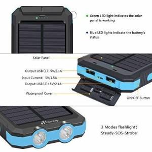 Hiluckey-10-000-mAh-Solar-Charger-5