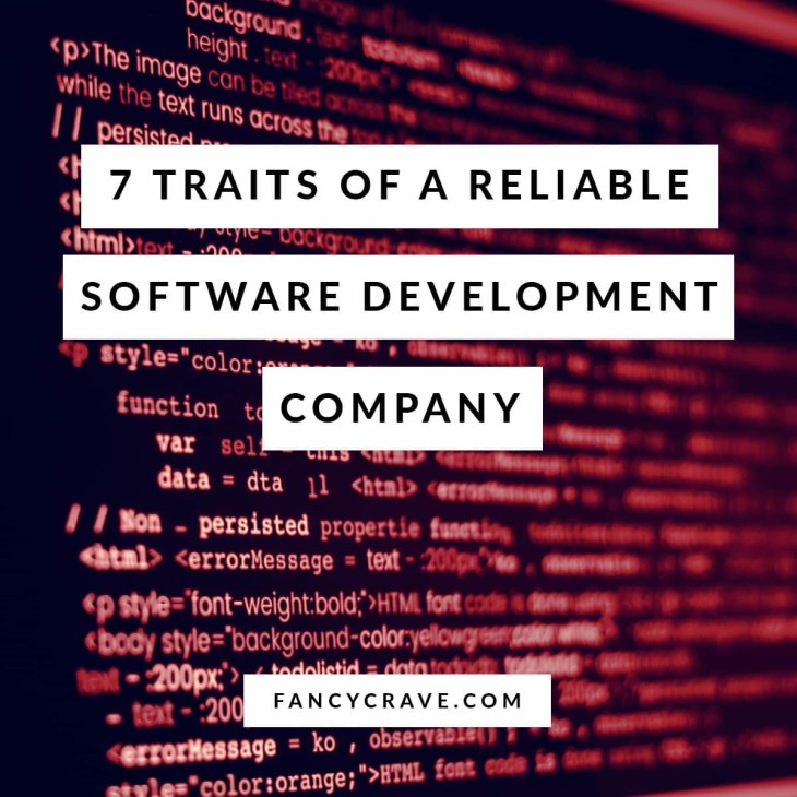 Traits of a Reliable Software Development Company