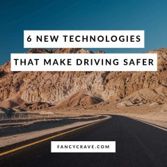 New Technologies that Make Driving Safer