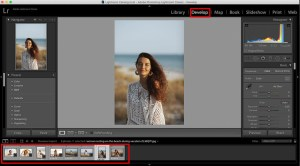 import photos to make a collage in lightroom