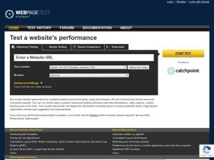 webpagetest org