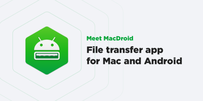 MacDroid : Connect Android To Mac Easily
