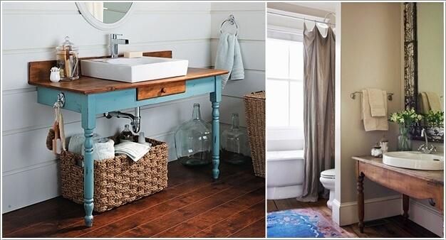 10 DIY Bathroom Vanity Designs