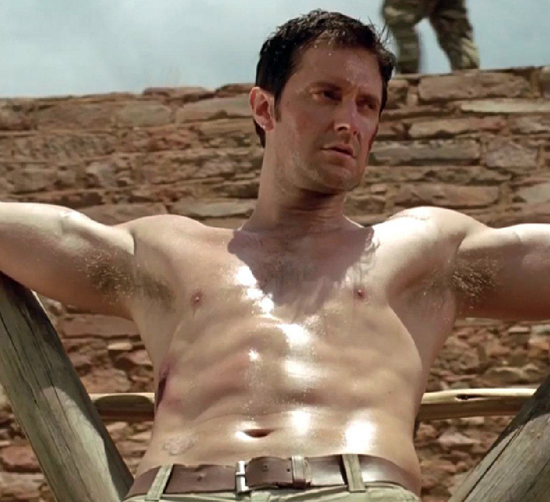 richard armitage shirtless