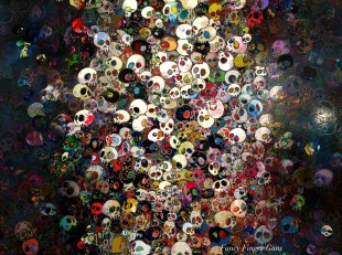 """End Of The Line"" Takashi Murakami"