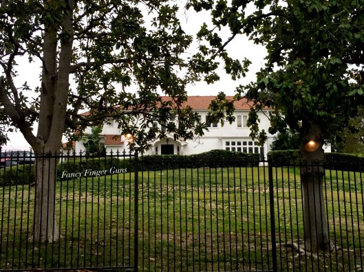 Clark Gable's house.