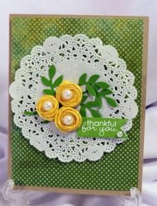 Wahi Tape Flower Thankful