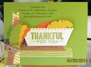 October PP Thanksgiving