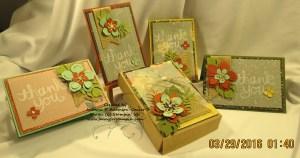 Botanical Blooms Notecards - 5