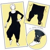 I pantaloni alla turca
