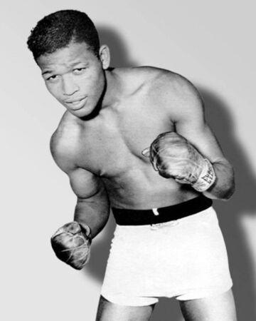 Famous Boxing player Sugar Ray Robinson