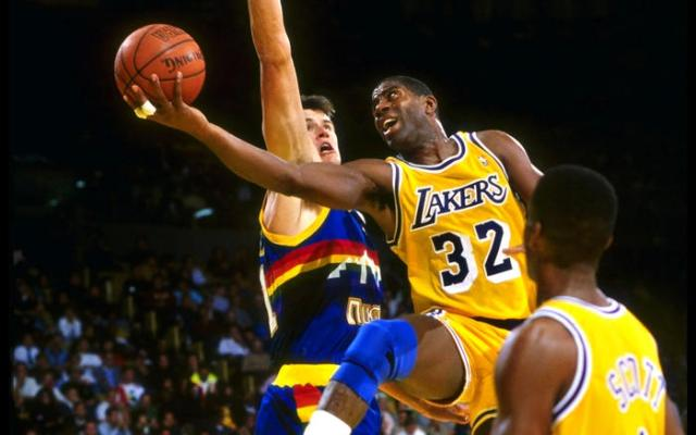 Magic Johnson the best NBA player of all time, top best NBA legends