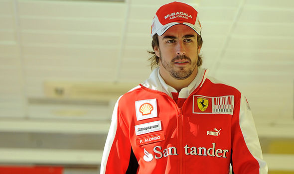 Famous Motor sports Player Fernando Alonso