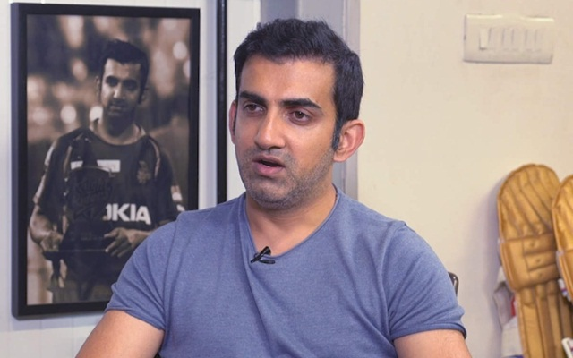 Gautam Gambhir believes team India lacks mental toughness