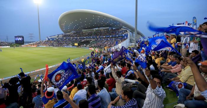 First half the IPL held in UAE in 2014
