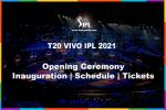 T20 IPL Opening Ceremony Schedule | 2021 VIVO IPL 14 Inauguration | Opening Ceremony Live Telecast