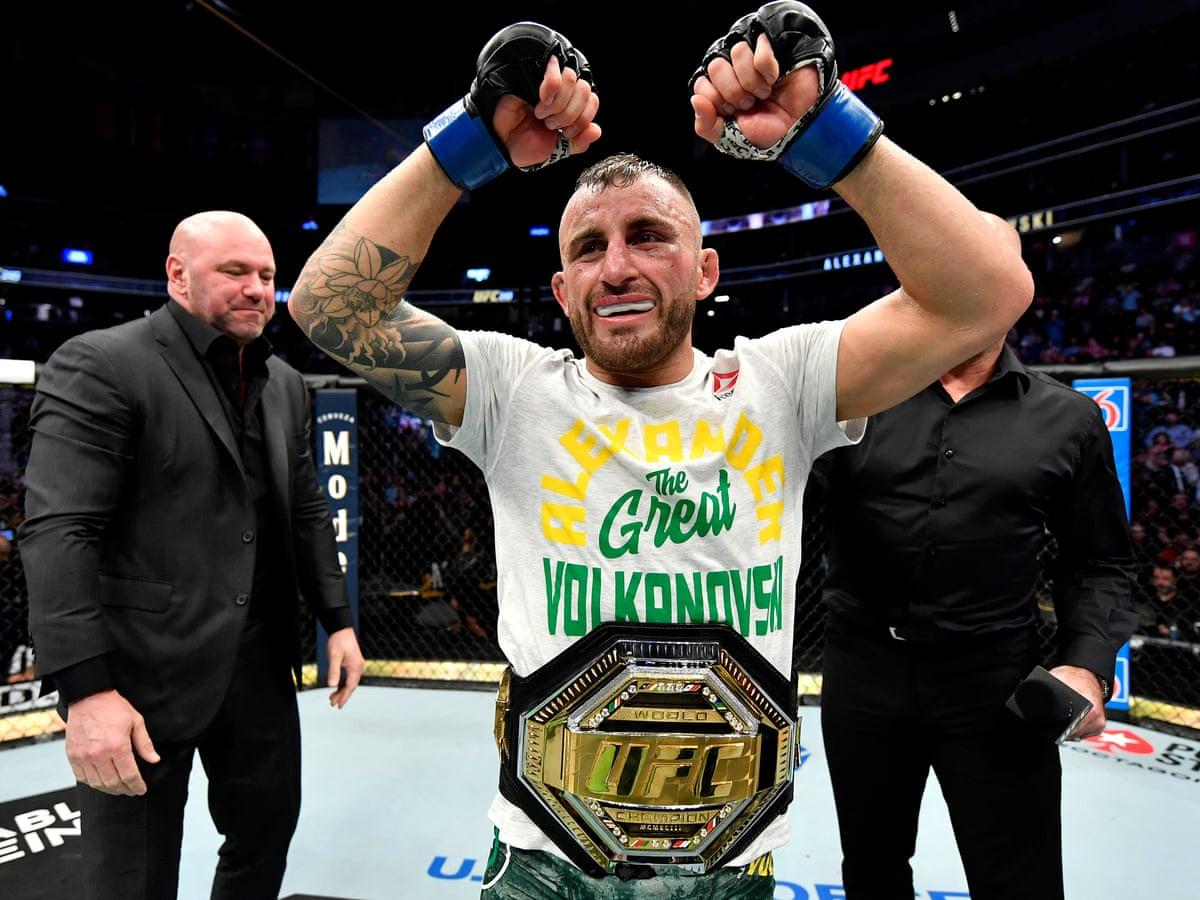 Alexander Volkanovski UFC Featherweight Championship