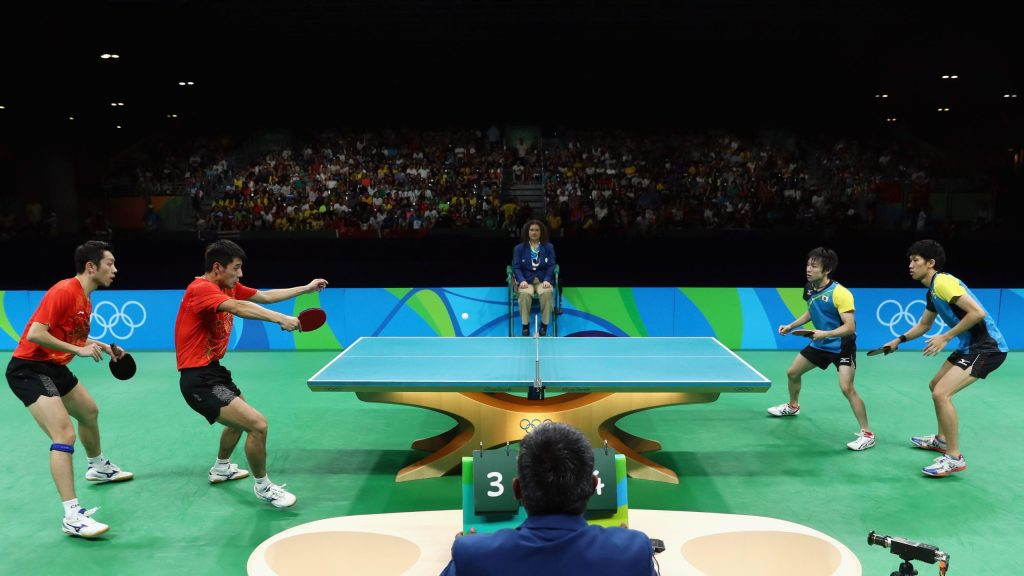 Table Tennis | About | History | Facts | How to Play | Rules | Competitions | Governing Body