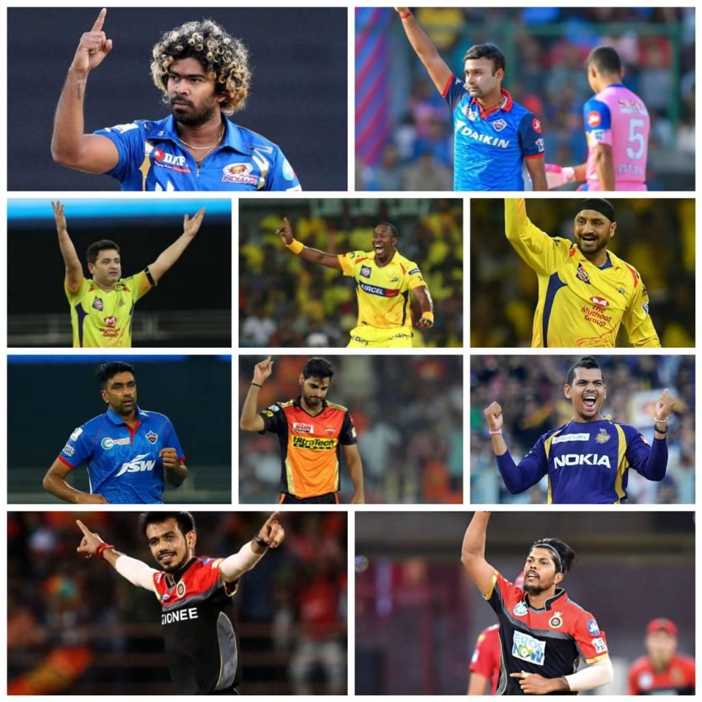 Top Ten Highest Wicket Taker Bowlers in IPL | List of Highest Wicket Taker Bowlers in IPL History