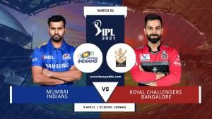 Vivo IPL First Match