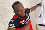 IPL 2021 | 'Fastest athlete in the world' Usain Bolt wears RCB Jersey | Virat Kohli and AB de Villiers react