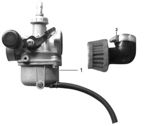 Chinese Scooter Carburetor Diagram Pictures to Pin on