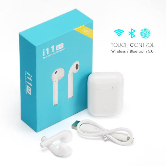 i11 TWS Earbuds Touch control Wireless Bluetooth Headphones