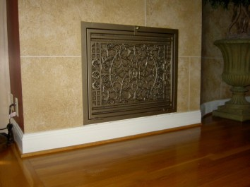Horizontal Glory Panel in Aged Gold