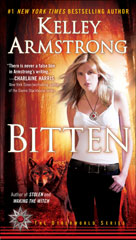 The cover of the book Bitten by Kelley Armstrong