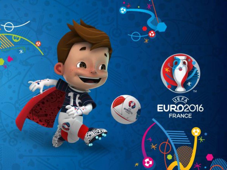 Apa nama maskot resmi yang digunakan pada Euro 2016?