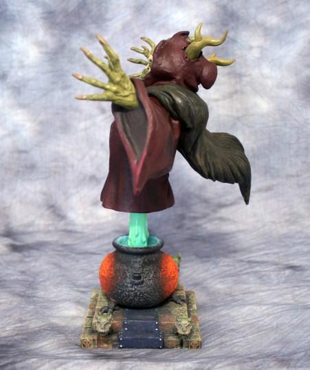 Horned King Bust 002