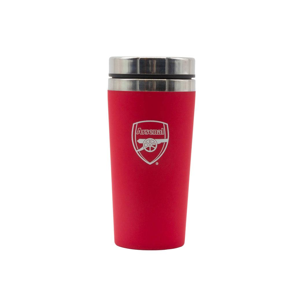 Arsenal FC Gunners Red Travel Mug