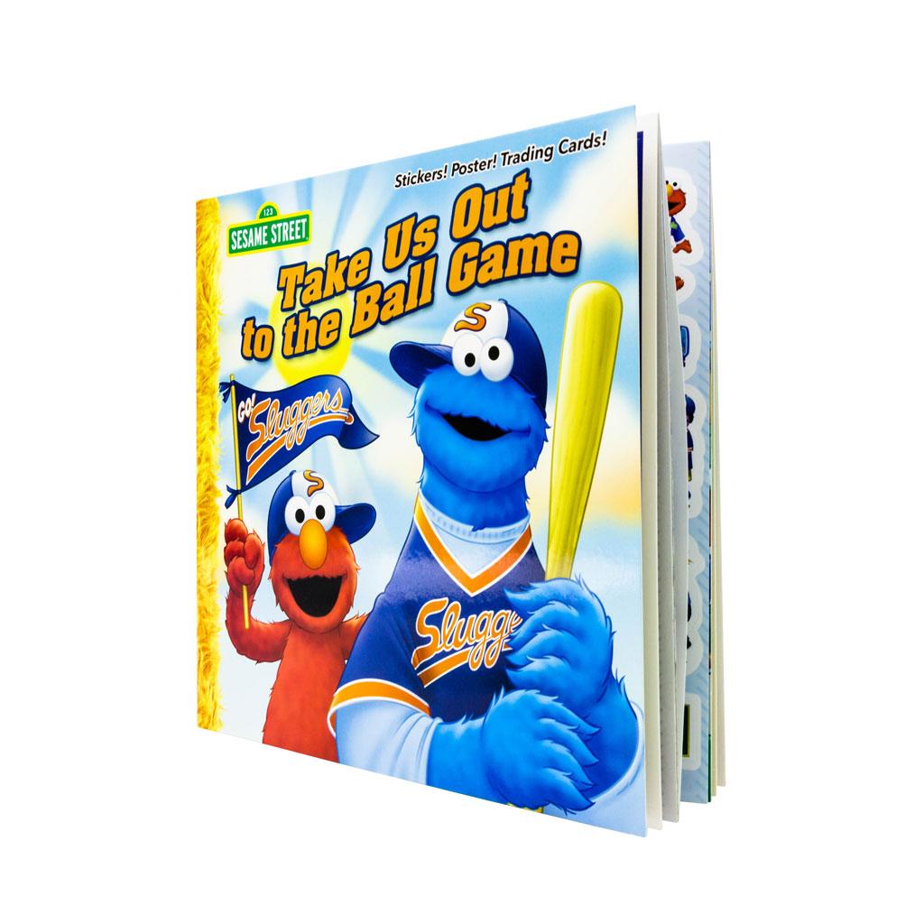 Baseball Sesame street Take Us Out to the Ball Game Book