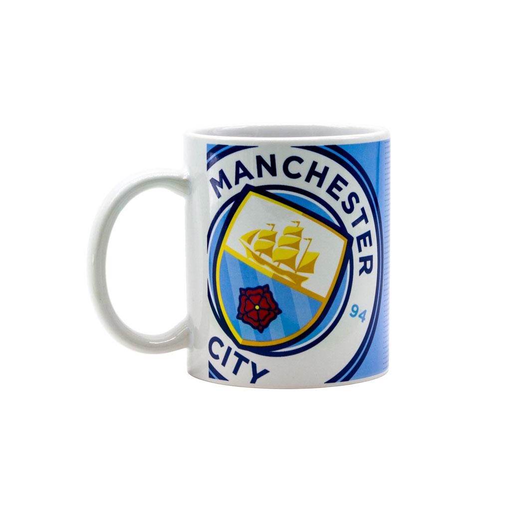 Manchester City Halftone Mug